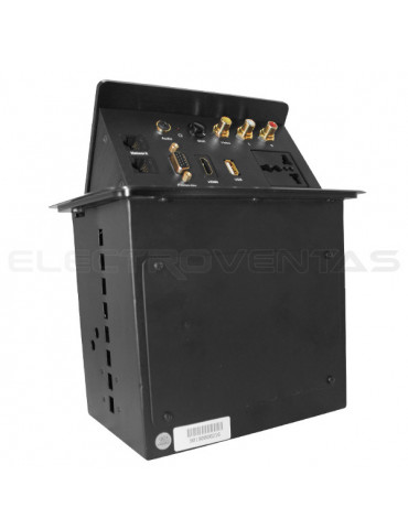 SOPORTE PARA TV LCD LED UNIVERSAL BRAZO 32-60, 10-50CM, VMAX 600X400, 55KG.