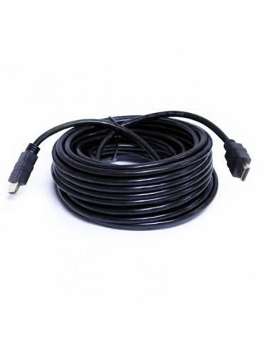 CABLE HDMI 10M. M/M, 1.4, CONECTORES BAÑO ORO