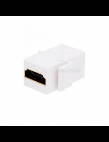 MODULO HDMI H/H PARA PLACA EN MURO 2.0/4K