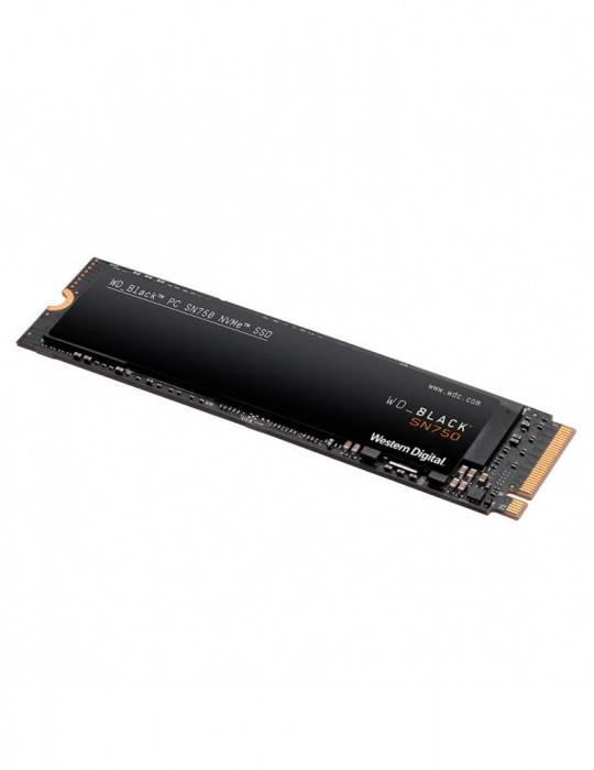 UNIDAD SSD WD BLACK 1TB SN750 NVME WDS100T3X0C