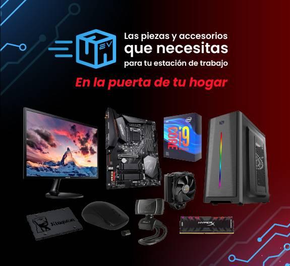 Partes y piezas de PC para estaciones de teletrabajo home office electroventas movil