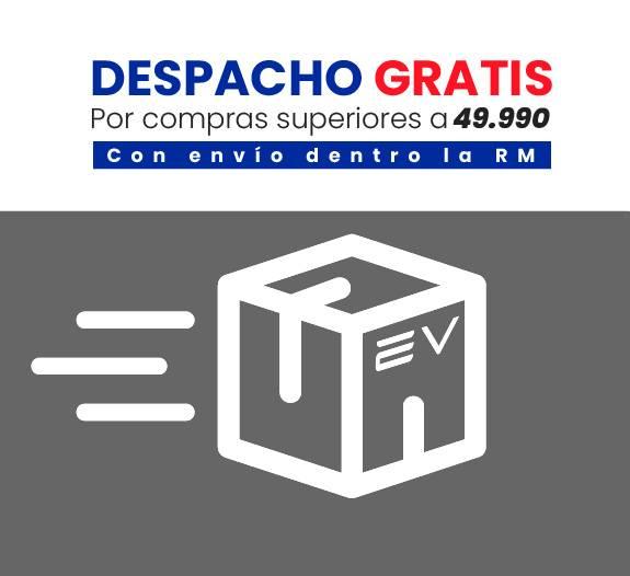 Despacho gratis por compras superiores a 49990 electroventas