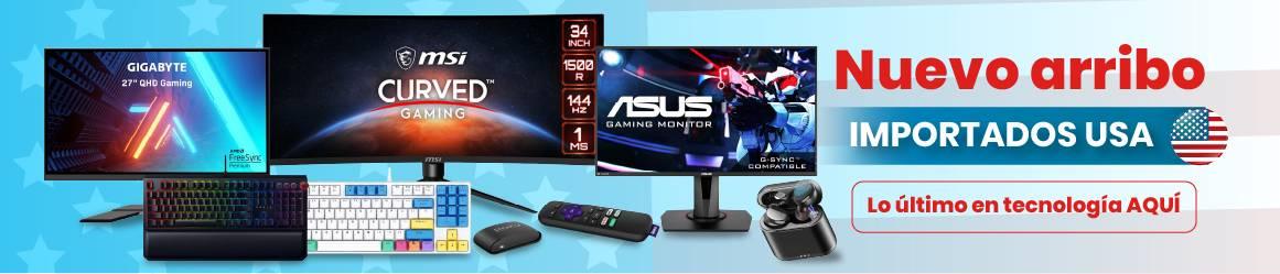 Productos importados tecnología de última generación gamer audifonos Electroventas