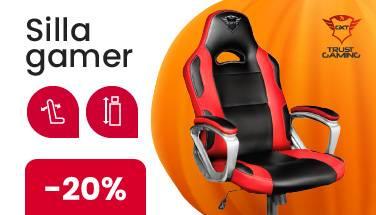 Silla Gamer electroventas halloween oferta promocion