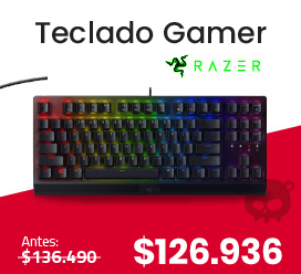 teclado gamer oferta halloween electroventas