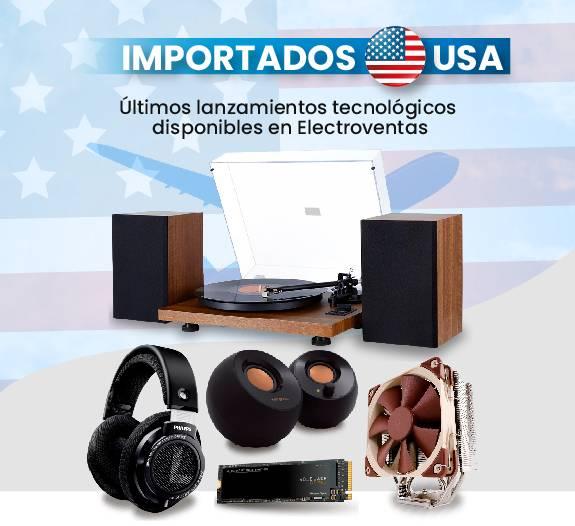 Productos importados desde Estados Unidos Electroventas